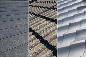屋根の素材