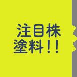 注目株塗料!!